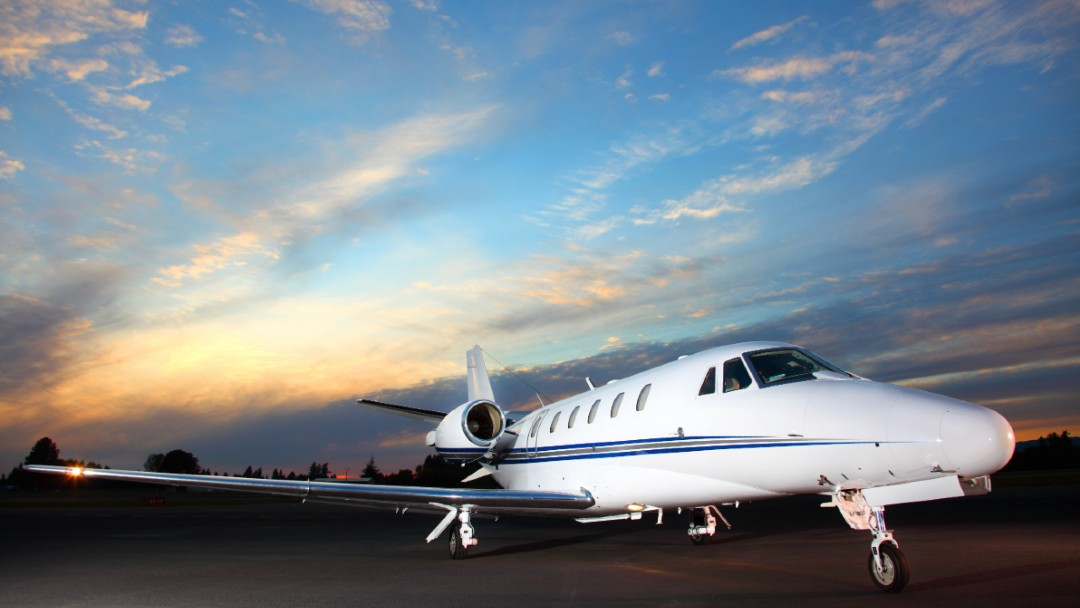private yet ready to take off into the night sky, The Top Aviation Insurance Company for Private Airplanes and Jets, Charter and Commercial Aircrafts Near You