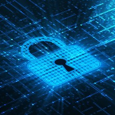 lock symbol on computer screen, cyber insurance, management liability insurance