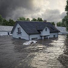 house under water and flooded, Top Personal Insurance Solutions Near You